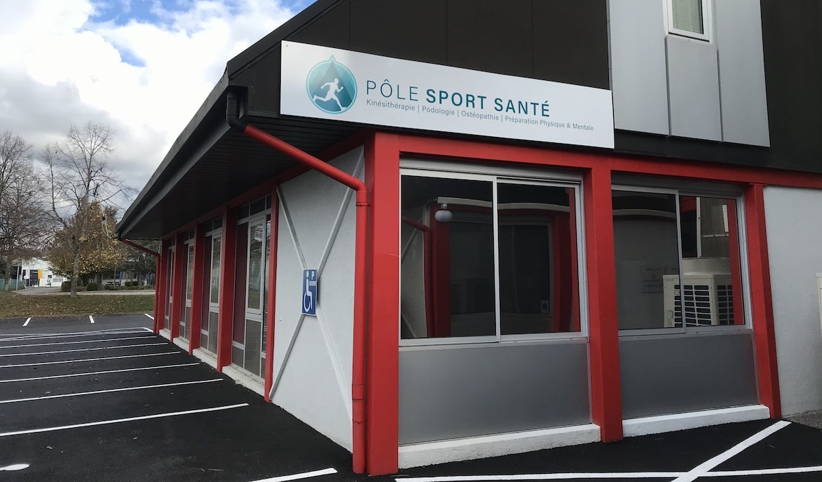 Façade extérieure du Pôle Sport Santé